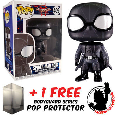 Funko Pop Spider-Man Into The Spider-Verse Spider-Man Noir No Hat Exclusive