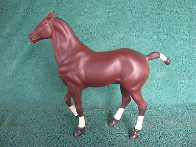 "1990s Stevens Hartland 9"" Bay Polo Pony - Excellent!"