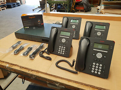 Avaya IP Office 500 V2 Phone System with 4 Handsets + Cordless Phone