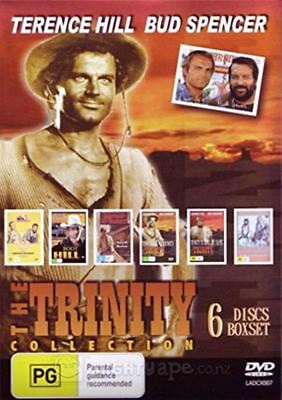 Terence Hill & Bud Spencer The Trinity Collection DVD Region Free New Sealed