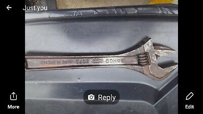 Bahco adjustable spanners 12""