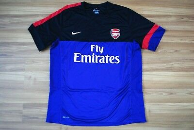 29e54ff62 Arsenal Fc Training Top Shirt Jersey 477754-547 For Men Size Xxl 2Xl Nike  Purple