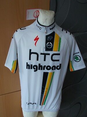 Moa Specialized Htc Highroad Skoda Giro Tour Cycling Shirt Jersey Vintage  Maglia f52e95523