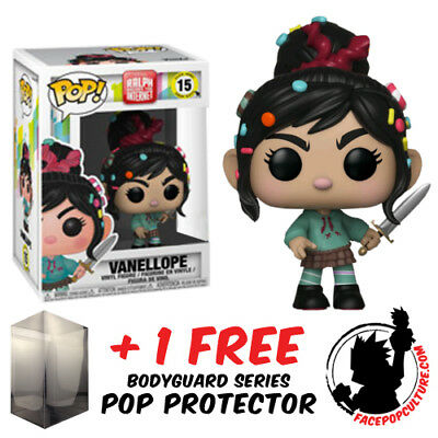 Funko Pop Wreck It Ralph 2 Vanellope With Sword Exclusive + Free Pop Protector