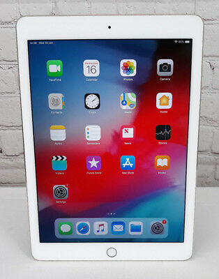 Apple iPad Air 2 64GB, Wi-Fi, 9.7in - Gold, home button jammed