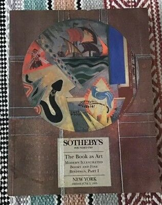 Sothebys Auction Catalogue - The Book As Art Part I New York 1995