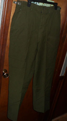 Cold Weather U.S Military Men/'s Wool Trousers Pre-owned Regular Small 110073