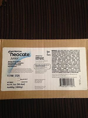 NEOCATE JUNIOR, Unflavored (Case of 4 Cans)