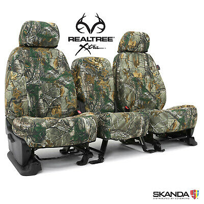 5102040-26 NEW Full Printed Realtree Xtra Camo Camouflage Seat Covers