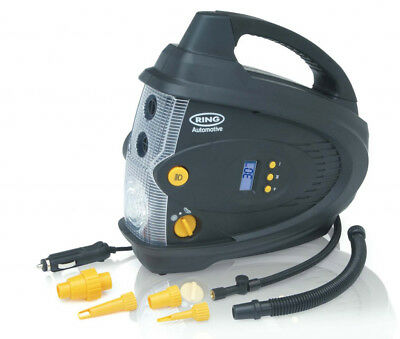 Ring 12V Digital Air Compressor + Inflator & Deflator
