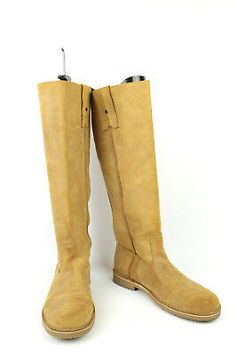 5f34b7ed1cb0 BOTTES 41 DAIM cuir camel derbies lacet revers zip COULEUR CAFE ...
