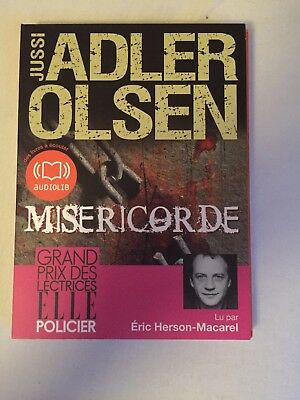Livre Audio Adler Olsen Misericorde