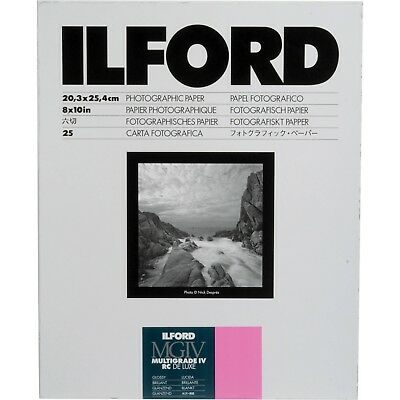Ilford Multigrade IV RC Deluxe Resin Coated Black & White Photographic Paper