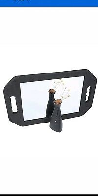 Double Handed FOAM PAD Barbers Back Mirror For Hairdressing Salon