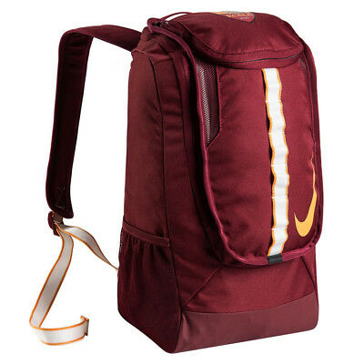 Nike Zaino AS Roma Allegiance Backpack con Portascarpe Fondo
