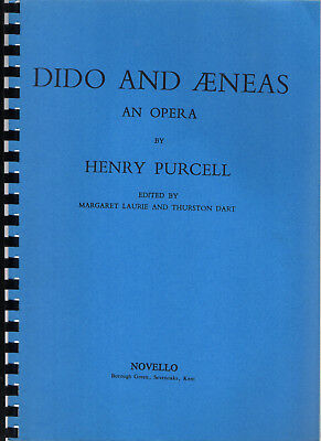Henry Purcell, Dido and Aeneas (Didon et Énée) (Partition)
