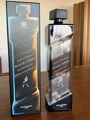 Johnnie Walker Black Label - Blade Runner 2049 Director's Cut bottle / box only