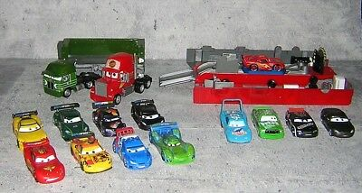 DISNEY PIXAR CARS Diecast Kenworth Gil & Mack Superliner Hauler Trucks plus  lot
