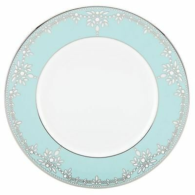 Marchesa Empire Pearl Turquoise Dinner Plate - Set of 4