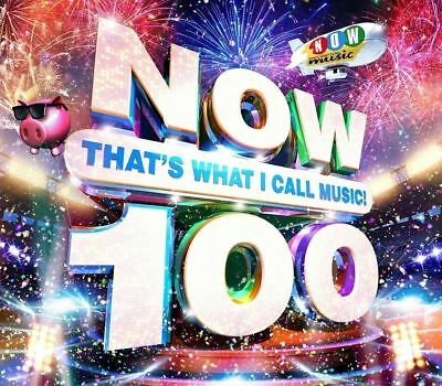 NOW 100 Various Artists CD. NEW, FREE DELIVERY
