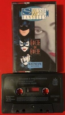 Siouxsie And The Banshees Face To Face Cassette Tape Single Batman Returns Rare