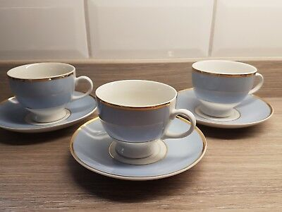 Royal Doulton Daily Mail Bruce Oldfield cups and saucers.