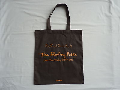 Original CHRISTO The Floating Piers 2016 Tote Bag Shopper cotton トートバッグ ロゴ コットン