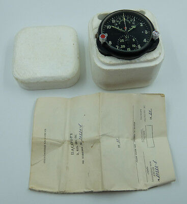 AChS-1M Russian Soviet USSR Military AirForce Aircraft Cockpit Clock #24824