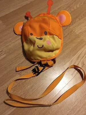 Toddler / Child Small Backpack with Safety Reins - Monkey