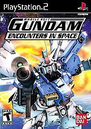 Mobile Suit Gundam: Encounters in Space (Sony PlayStation 2, 2003) - PS2