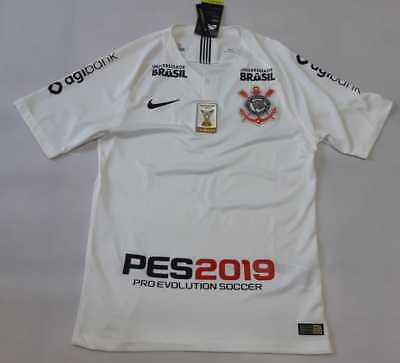 a53dd2f1dc4 Corinthians Nike Home Jersey 2018 Player Issue Brasileirao Champion PES2019