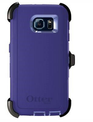 OEM OtterBox Defender Series Purple Amethyst Case For Samsung Galaxy S6