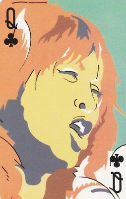 Swap Playing Card... Tina Turner ..artist - Brian Grimwood