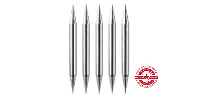 """TIG Tungsten Sharpened Electrodes 2%Thoriated 1/16"""" x 1.5"""" 5PK Free Quick-Ship"""
