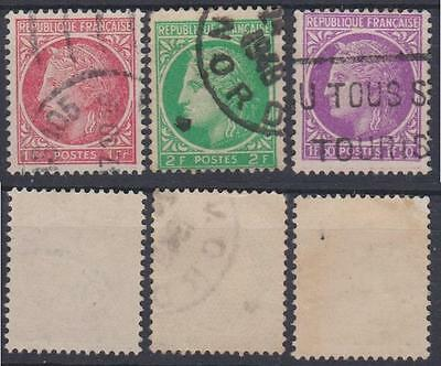*FRANCE*    Ceres,    3pcs,   Used