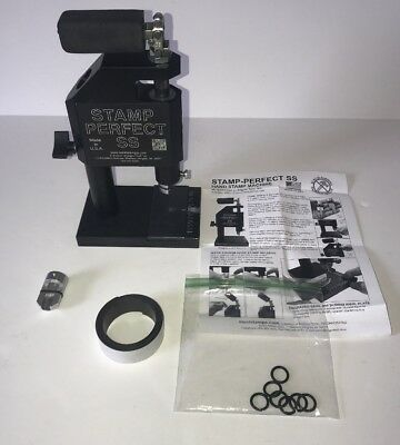Stamp perfect SSP Stamping Machine (Machine #1) for METAL, LEATHER, WOOD & MORE