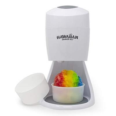 Electric Shaved Ice Machine, 2 Round Block Ice Molds, Shave Ice by Hawaiian