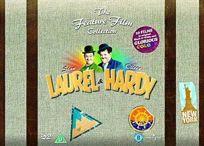 Laurel and Hardy - The Feature Film Collection  with Stan Laurel New (DVD  2011)