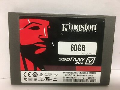 Kingston V300 60GB 2.5  SSD SATA III Internal Solid State Drive 6Gb/s SV300S37A