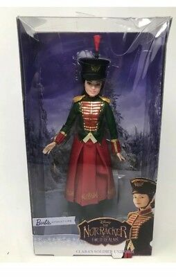2018 The Nutcracker Clara's Soldier Uniform Barbie Doll. New In Package