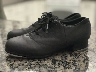 girls/boys/youth black BLOCH Shockwave TAP SHOES SIZE 3 4     GOOD CONDITION!