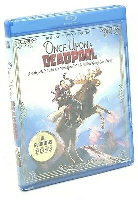 Once Upon a Deadpool (Blu-ray+DVD+Digital, 2019) PG-13 FairyTale Twist on DP2