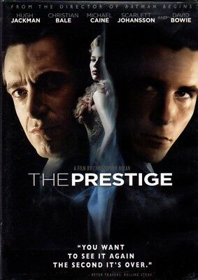 The Prestige (DVD, 2007 Warner Bros.)