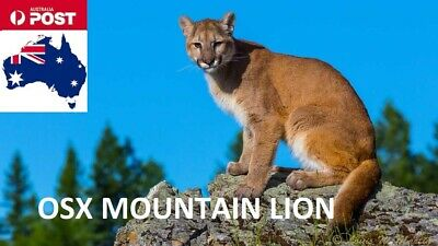 Mac OS X OSX Mountain Lion 10.8 USB Boot Bootable Install Installer Recovery