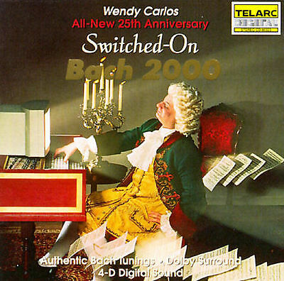 Switched-On Bach 2000 by Wendy Carlos (CD, Jul-1992, Telarc Distribution) A++++