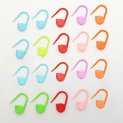 100pcs Length Colorful Plastic Safety Pins For Label Tags Fasteners Charms