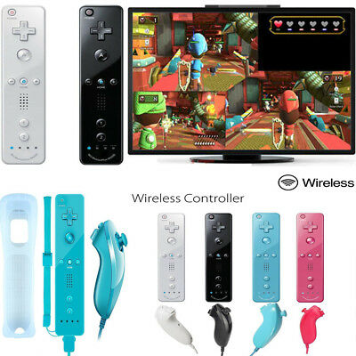 Wiimote Built in Motion Wireless Plus Inside Controller For Nintendo Wii & Wii U