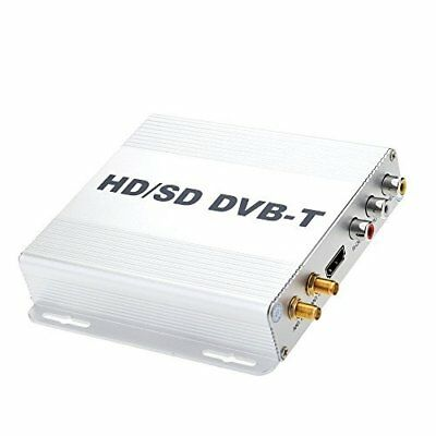 DVB-T HD SD Multi-Channel Mobile Car Digital TV Box Mini TV Analog Tuner Hi Y8M1