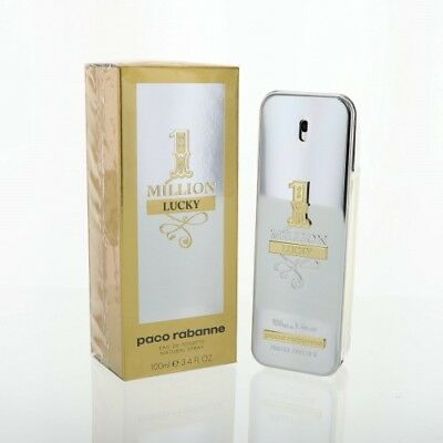 PACO RABANNE 1 MILLION LUCKY3.4 OZ EAU DE TOILETTE SPRAY NEW in Box for Men