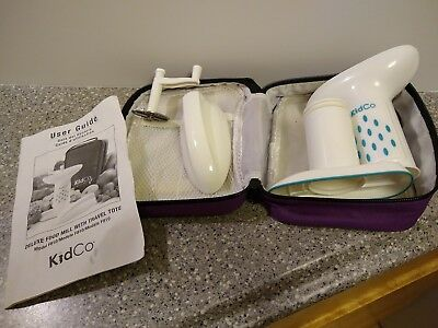 Kidco Delux Food Mill with Travel Tote for Baby Food